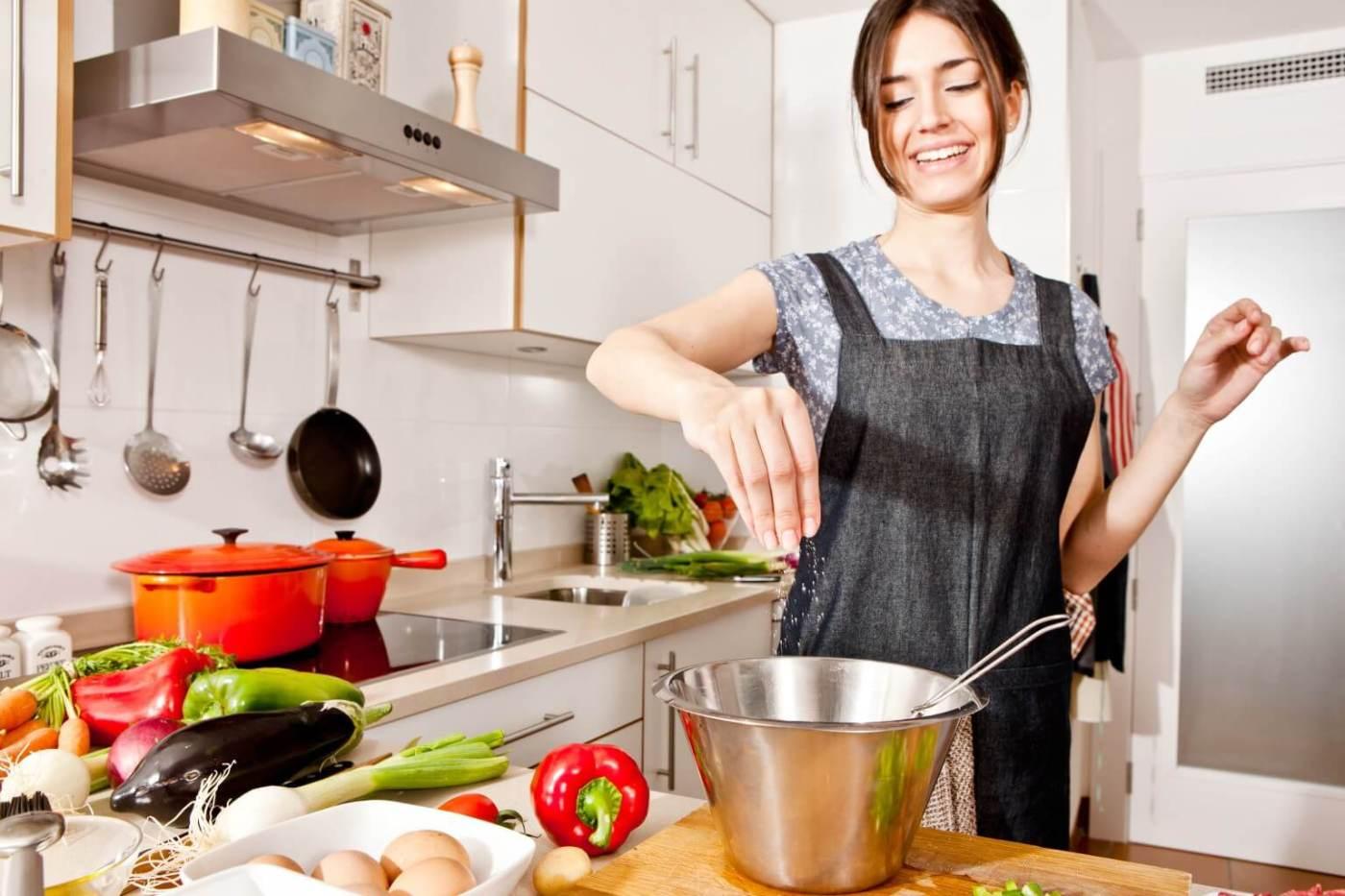 Determinadas personas necesitan cocinar sin sal.