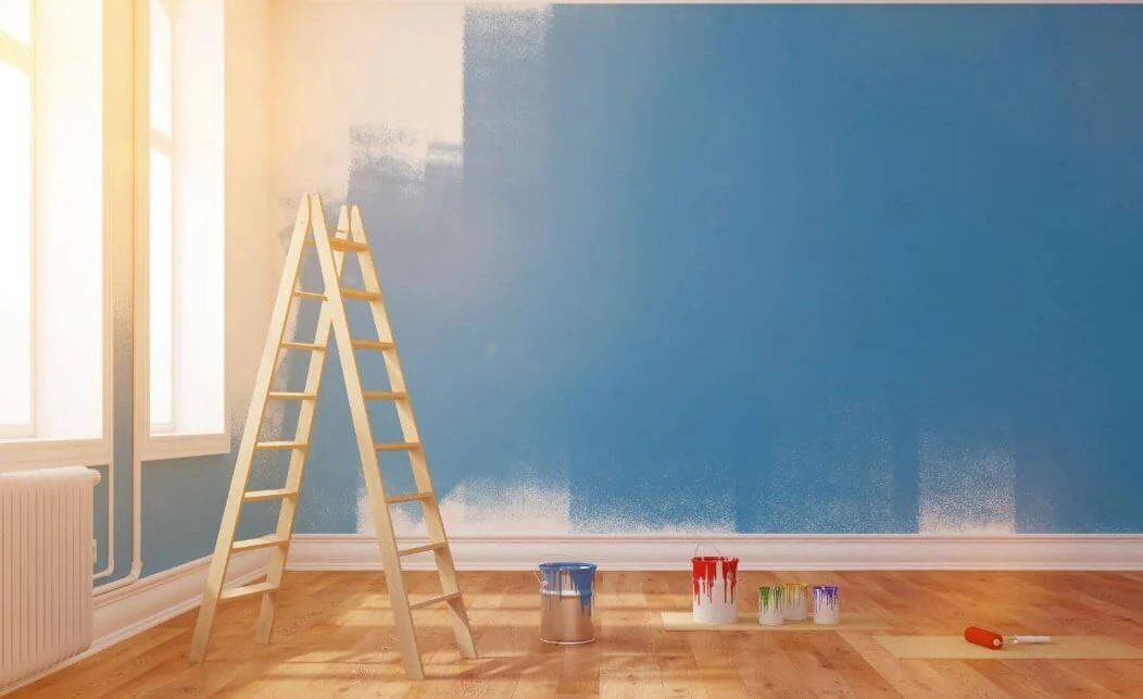 Pintar las paredes de la casa requiere unos conocimientos previos.