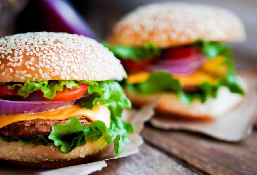 Receta de hamburguesas.