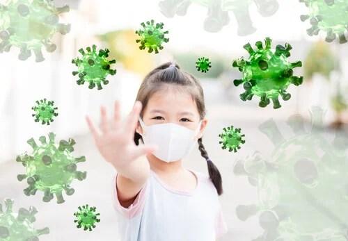 coronavirus en niños produce formas leves