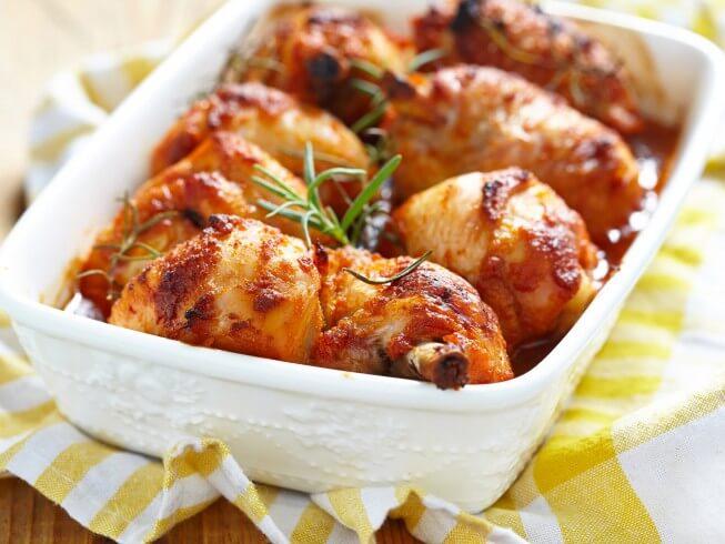 Receta de pollo de celebración