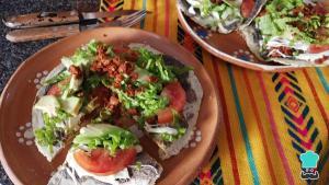 Tlayudas de Oaxaca Receta facil paso a paso