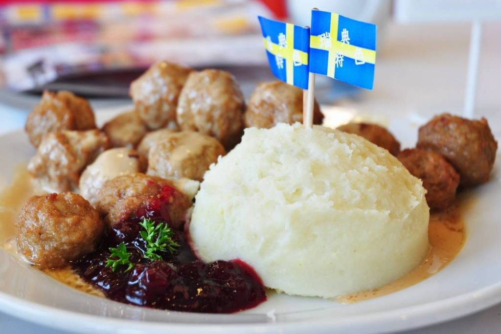 Albóndigas suecas de IKEA