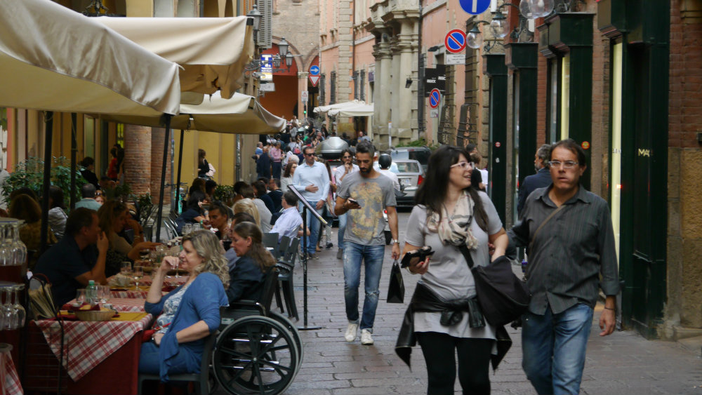 Best district to stay in Bologna - Centro Storico