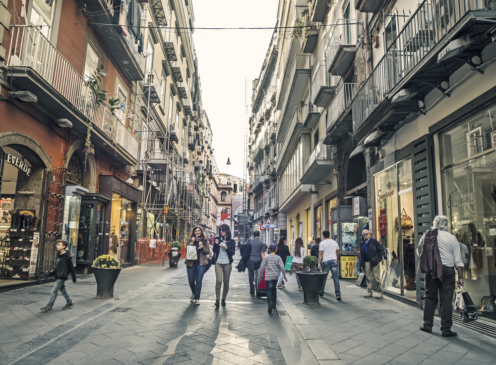 Chiaia - Mejores zonas para alojarse en Nápoles