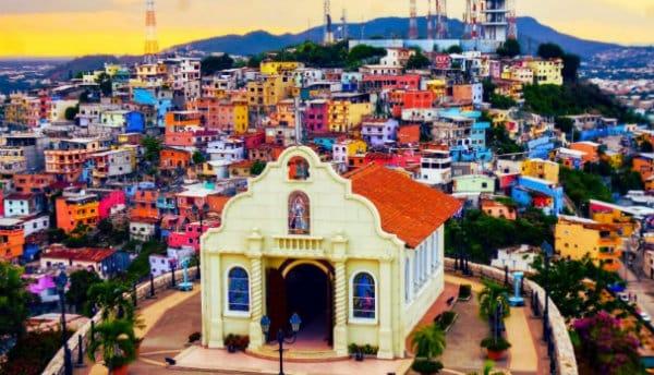 Alojarse cerca del Barrio Las Peñas - Guayaquil, Ecuador