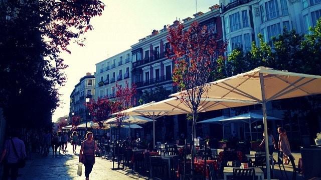 Barrio de las Letras - Dónde alojarse en Madrid