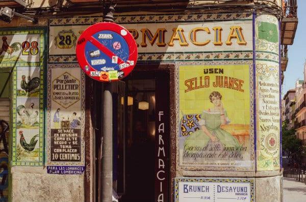 Malasaña - Best areas to stay Madrid, Spain