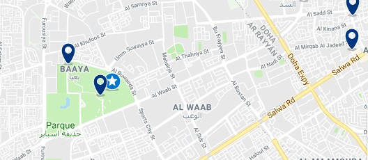 Accommodation near Khalifa International Stadium - Click to see all available accommodation in this area