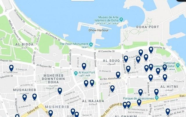 Alojamiento en Corniche & Downtown Doha - Haz clic para ver todo el alojamiento disponible en esta zona