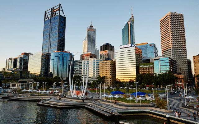 CBD - Mejores zonas donde alojarse en Perth