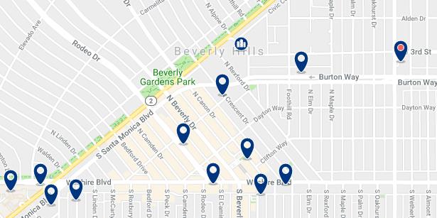 Alojamiento en Beverly Hills– Haz clic para ver todo el alojamiento disponible en esta zona