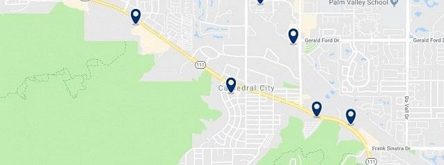Alojamiento en Cathedral City - Haz clic para ver todo el alojamiento disponible en esta zona