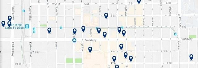 Alojamiento en Downtown San Diego - Haz clic para ver todo el alojamiento disponible en esta zona