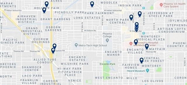 Alojamiento en Encanto - Haz clic para ver todo el alojamiento disponible en esta zona