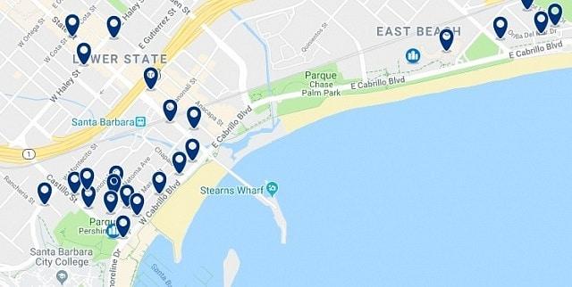 Alojamiento en Santa Barbara Beaches - Haz clic para ver todo el alojamiento disponible en esta zona