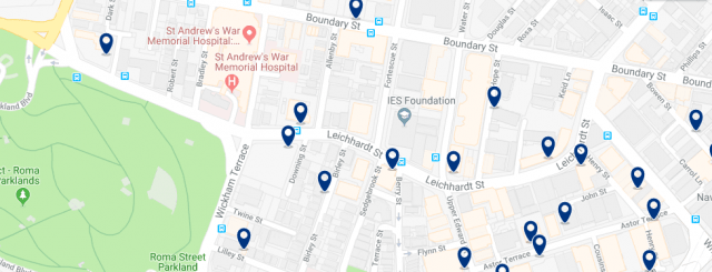 Accommodation in Spring Hills - Click on the map to see all accommodation in this area