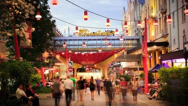 Chinatown - Fortitude Valley - Dónde alojarse en Brisbane