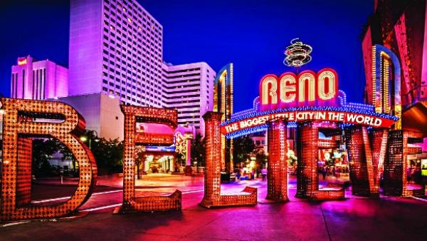 Mejores zonas dónde alojarse en Reno- Downtown