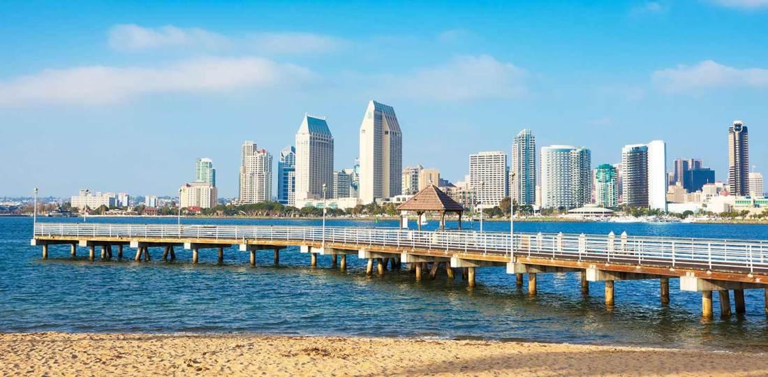 Mejores zonas donde alojarse en San Diego, California