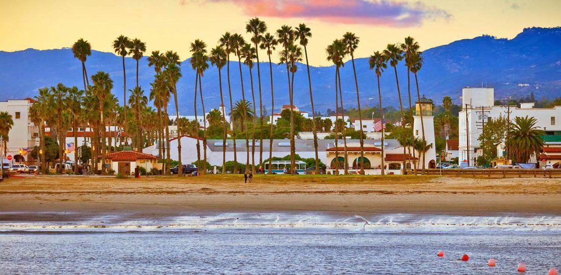 Mejores zonas donde alojarse en Santa Bárbara, California