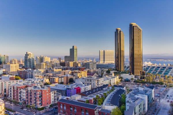 Mejores zonas donde dormir en San Diego - Downtown
