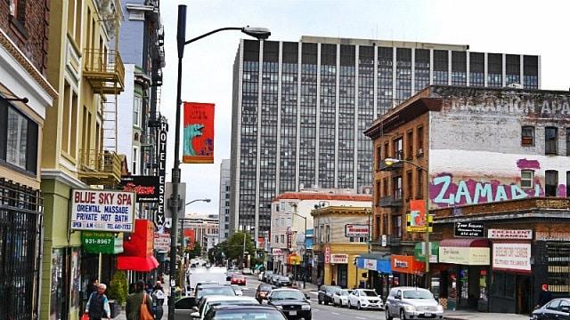 Tenderloin - Alojarse en San Francisco, California