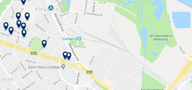 Alojamiento cerca de Canberra Train Station - Haz clic para ver todo el alojamiento disponible en esta zona