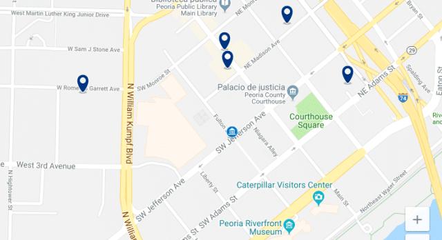 Alojamiento cerca de Peoria Civic Center – Haz clic para ver todo el alojamiento disponible en esta zona