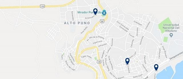 Alojamiento en Alto Puno - Haz clic para ver todo el alojamiento disponible en esta zona