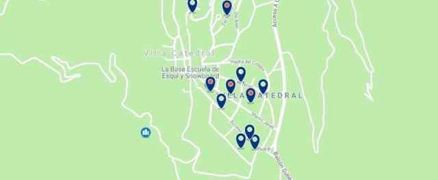 Alojamiento en Cerro Catedral - Haz clic para ver todo el alojamiento disponible en esta zona