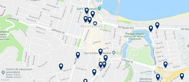 Alojamiento en Downtown Monterey - Haz clic para ver todo el alojamiento disponible en esta zona