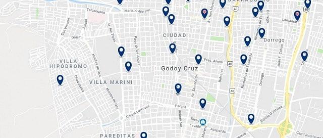 Alojamiento en Godoy Cruz - Haz clic para ver todo el alojamiento disponible en esta zona