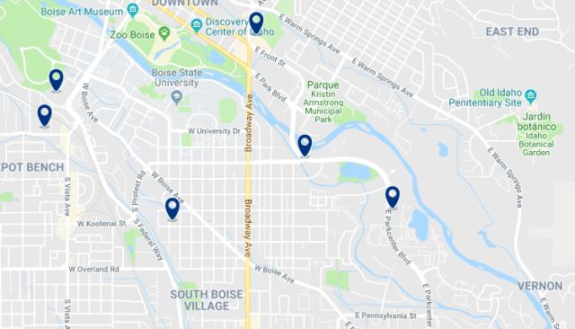 Alojamiento en Southeast – Haz clic para ver todo el alojamiento disponible en esta zona