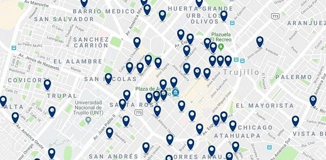 Alojamiento en Trujillo Centro Histórico - Haz clic para ver todo el alojamiento disponible en esta zona