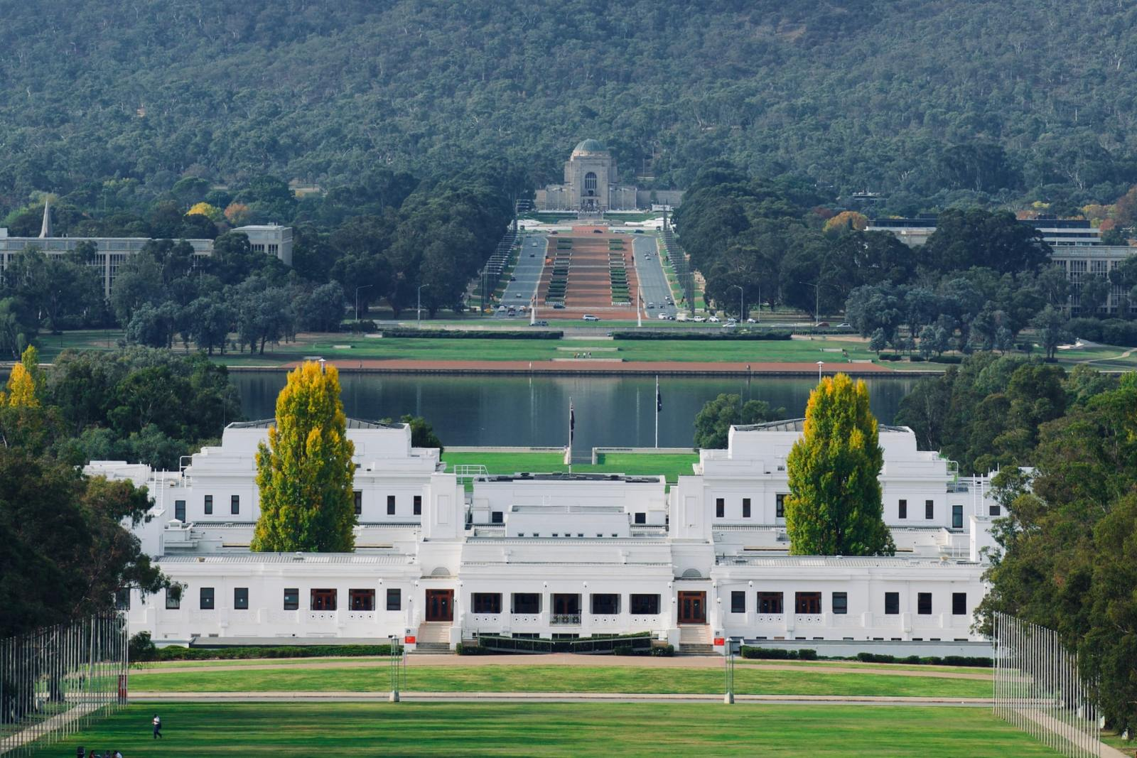 Las mejores zonas donde alojarse en Canberra, Australia