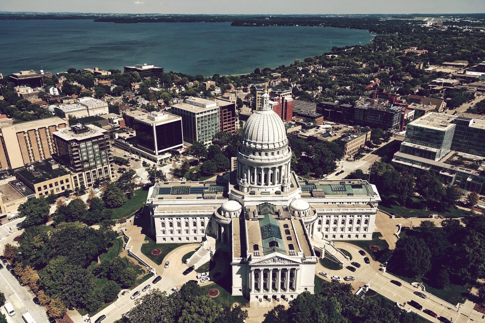 Las mejores zonas donde alojarse en Madison, Wisconsin