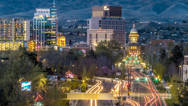 Best areas to stay in Boise – Downtown