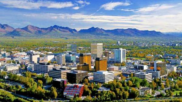 Dónde alojarse en Anchorage - Downtown Anchorage