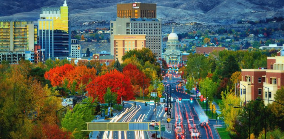 Mejores zonas dónde alojarse en Boise, Idaho