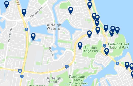 Alojamiento en Burleigh Heads – Haz clic para ver todo el alojamiento disponible en esta zona