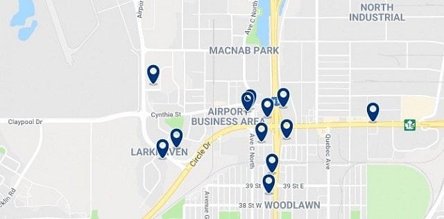 Alojamiento en North Industrial - Haz clic para ver todo el alojamiento disponible en esta zona