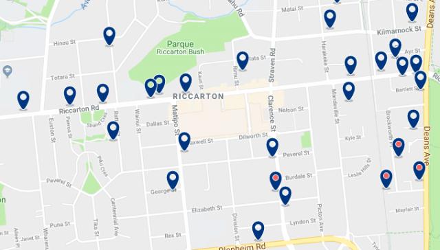 Alojamiento en Riccarton – Haz clic para ver todo el alojamiento disponible en esta zona