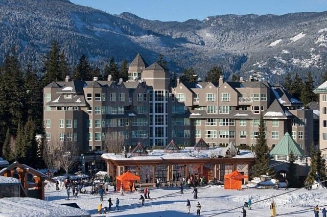 Dónde alojarse en Whistler, Canadá - Whistler Upper Village