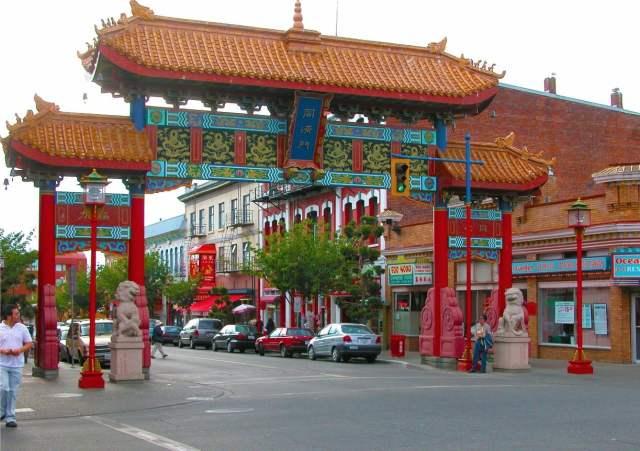 Mejores zonas donde alojarse en Victoria, British Columbia - Chinatown