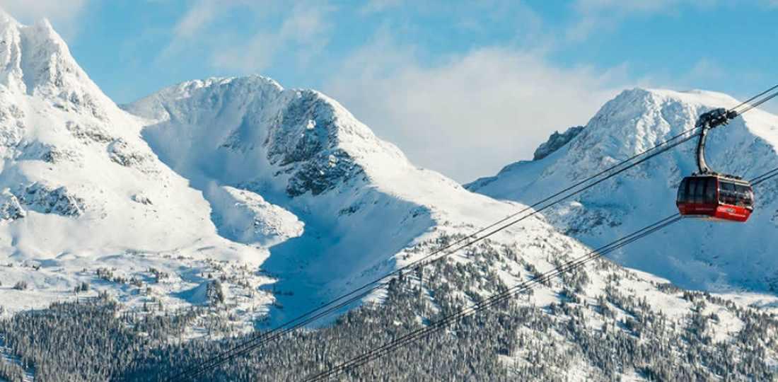 Mejores zonas donde alojarse en Whistler, Canadá