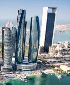 Dónde alojarse en Abu Dhabi