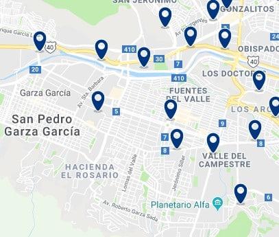 Alojamiento en San Pedro Garza García – Haz clic para ver todo el alojamiento disponible en esta zona