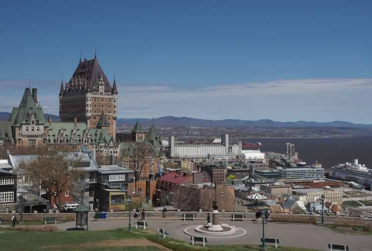 Las mejores zonas donde alojarse en Québec City, Canadá