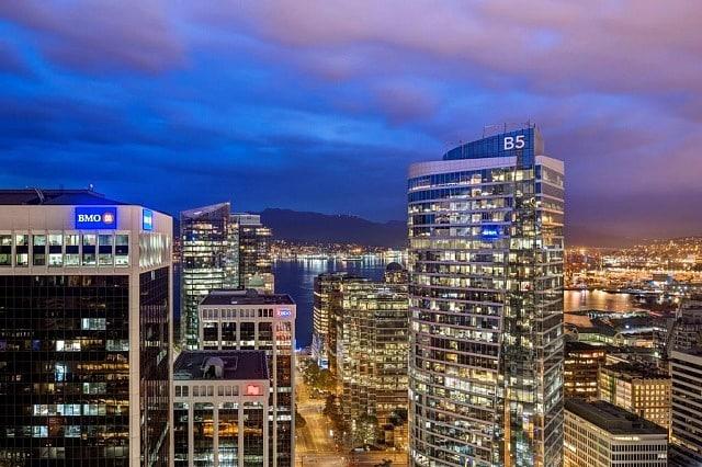 Mejores zonas donde dormir en Vancouver, Canadá - Downtown